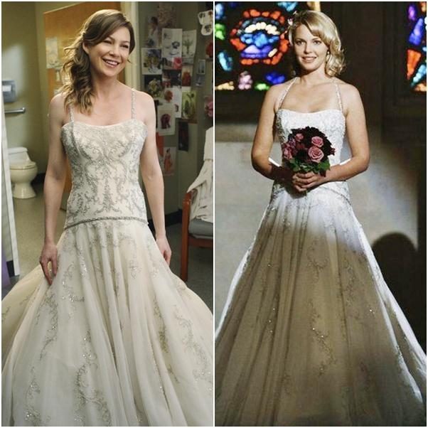 casamento Grey's Anatomy izzie meredith