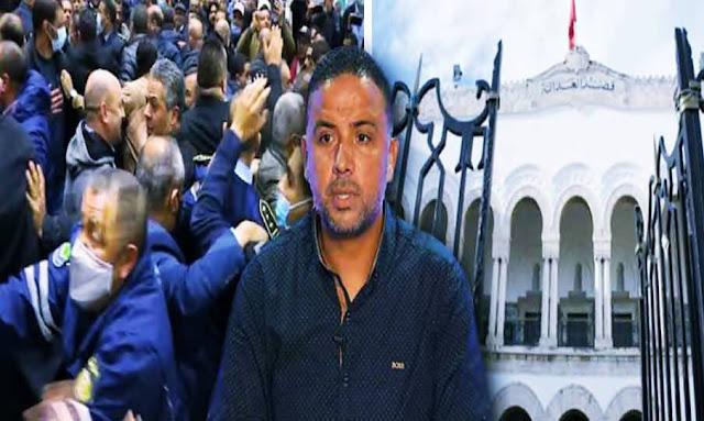 سيف الدين مخلوف في المطار