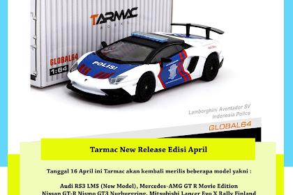 New Release Tarmac Edisi April 2018