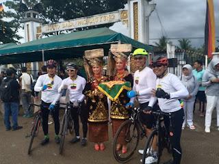 Wakasad Mengikuti BBGRM Tour De Singkarak