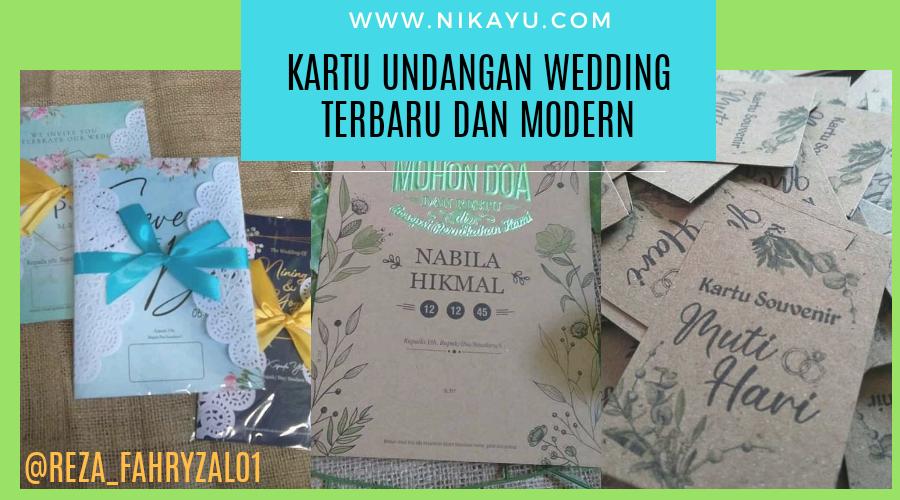Model Undangan Pernikahan Wedding Organizer Terbaru