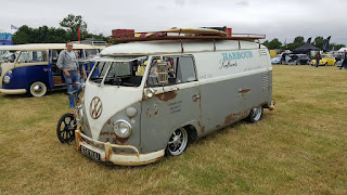 VW Splitscreen Panel van at Bristol Volksfest