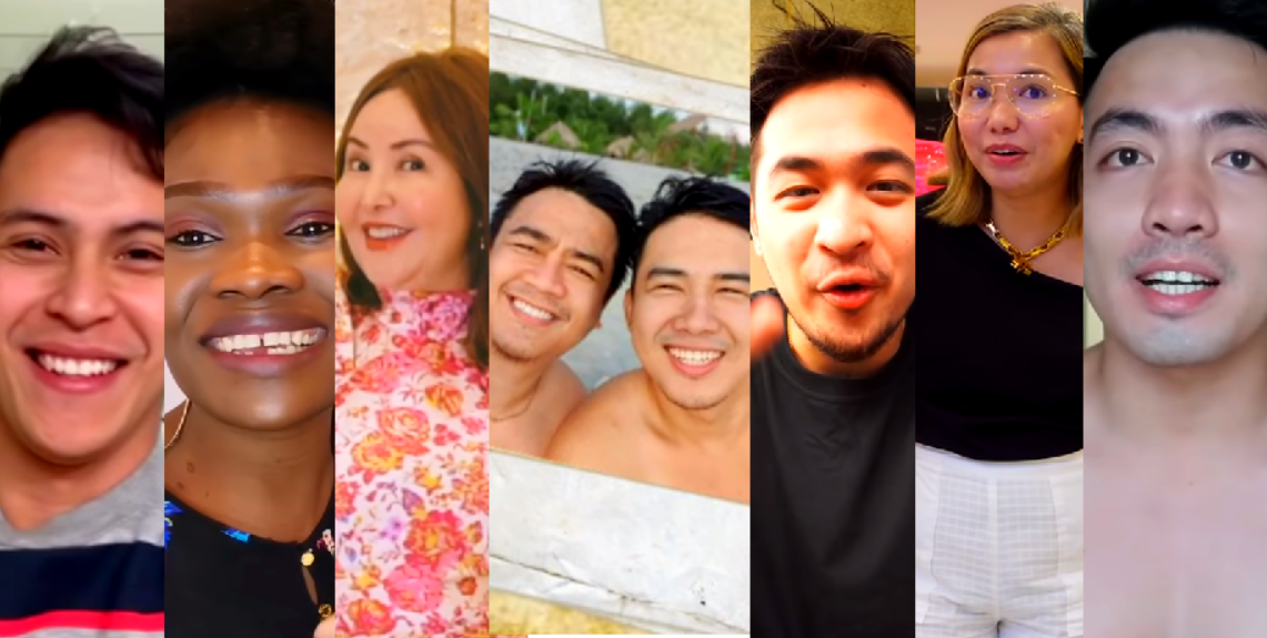 Filipino Vloggers on Youtube, Glester Capuno, Nurse Glory, Small Laude, Gonzie Show, Geo Ong, Ana Magkawas, Marvin Samaco