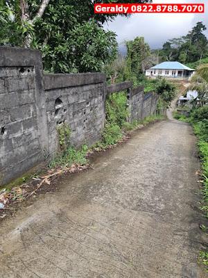 Jual Tanah Kosong Murah Kota Ambon, Akses Jalan Mudah, Lokasi Strategis, CP 0822.8788.7070