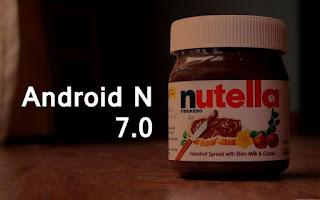 A Google Android 7.ese N kódnéven