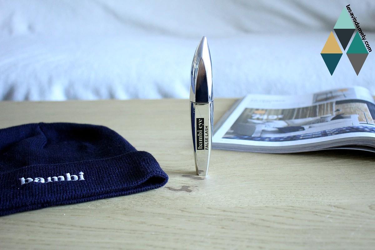 revue beauté mascara bambi eye false lash effet faux cils l'oréal paris