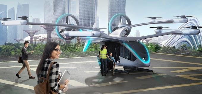 Embraer revela carro voador 'para as massas'