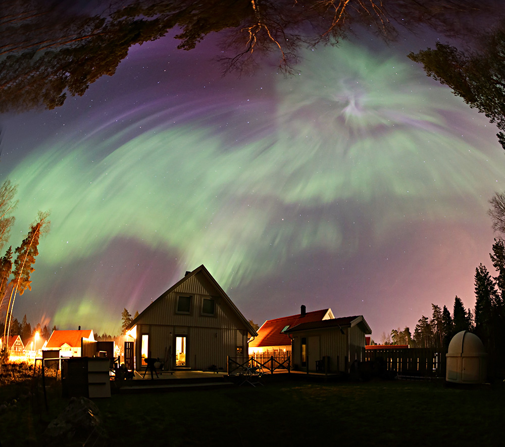 Aurora in the Backyard