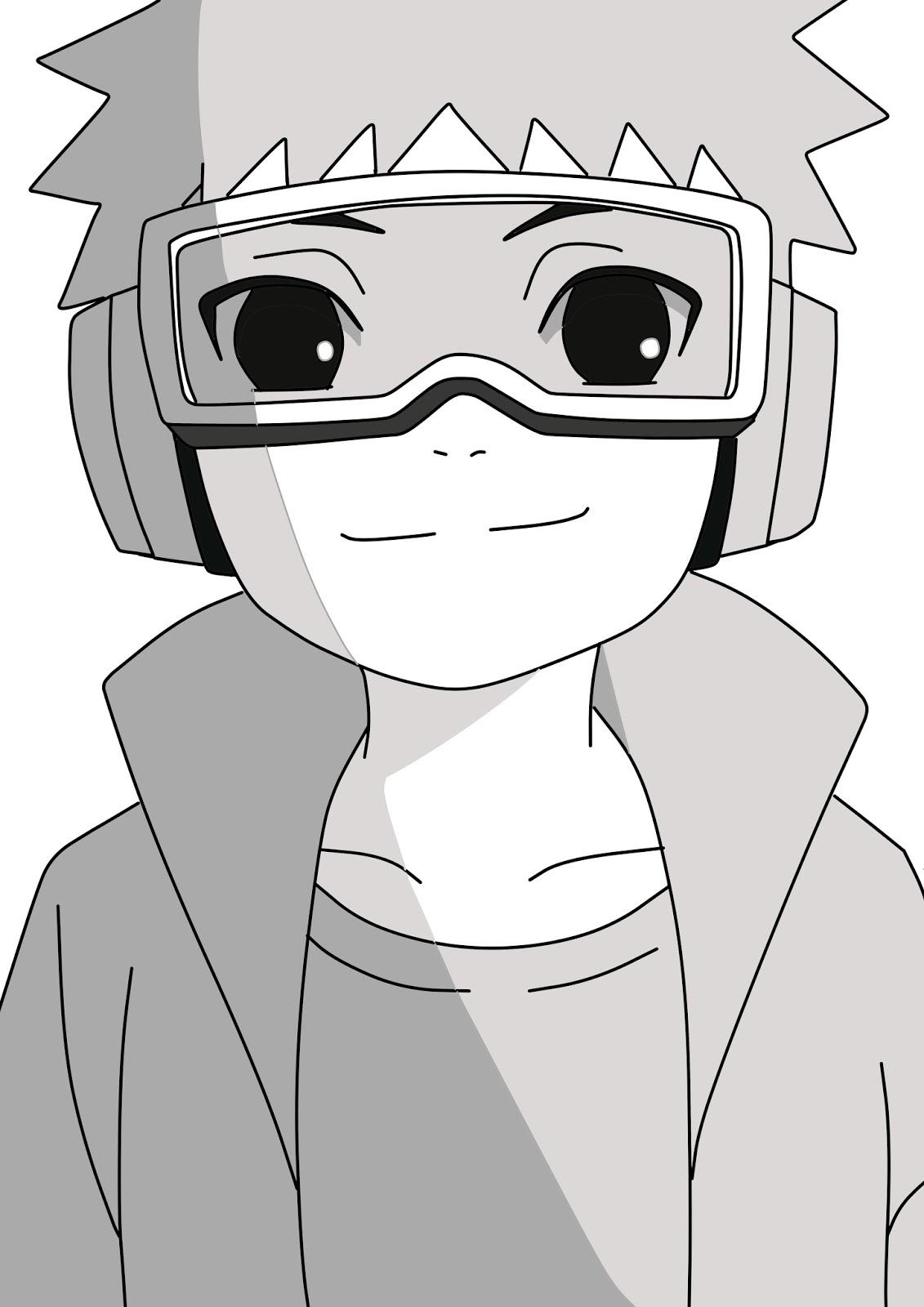Kumpulan Gambar Sketsa Karakter Anime