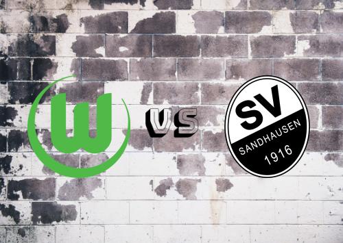 Wolfsburg vs Sandhausen  Resumen