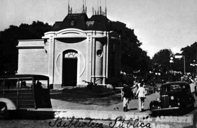 Garage 75: Biblioteca Publica de Alegrete [Hoje o Quiosque] (Foto Antiga X)