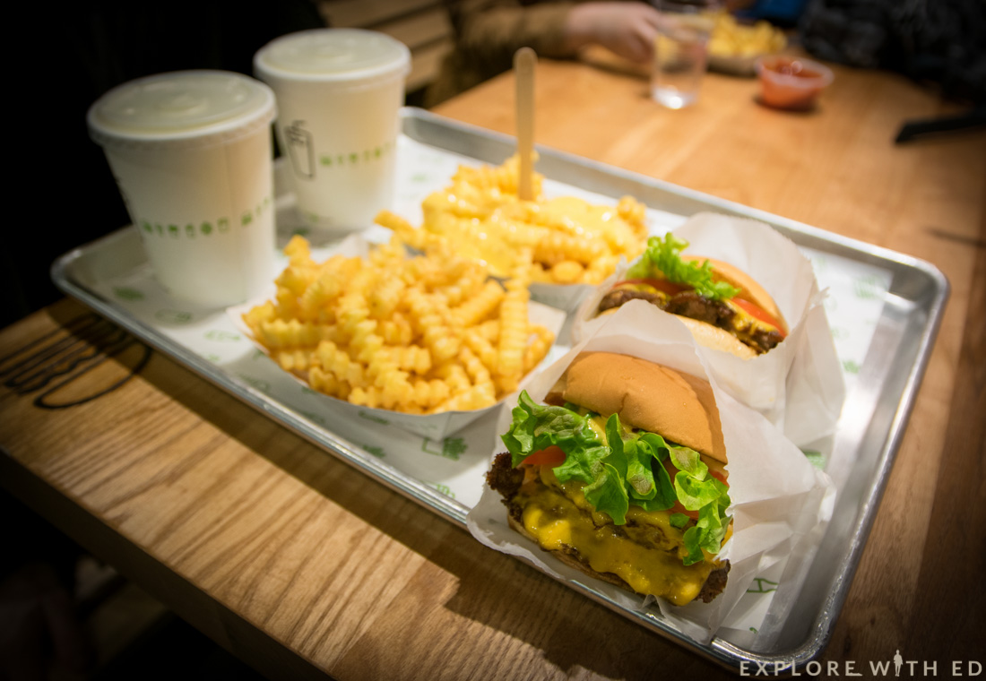 Shake Shack Cardiff Meal for two