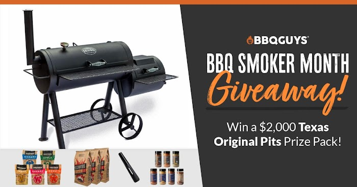 BBQGuys Texas Original Pits Prize Pack Giveaway (Worth Over : $2000)