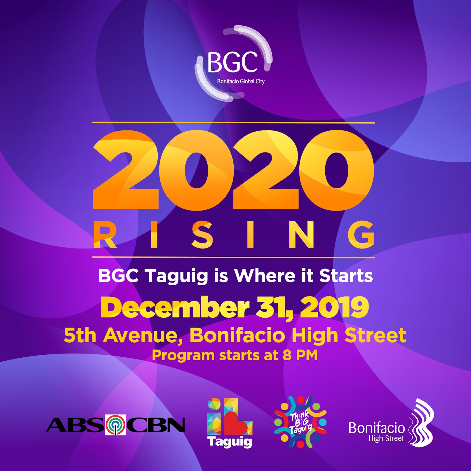 BGC holds the biggest street party to welcome 2020!