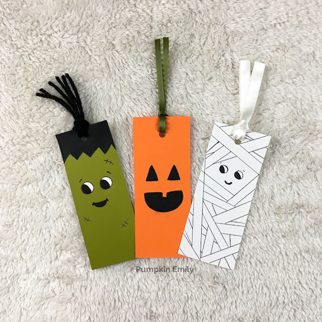 3 Easy DIY Halloween Bookmarks