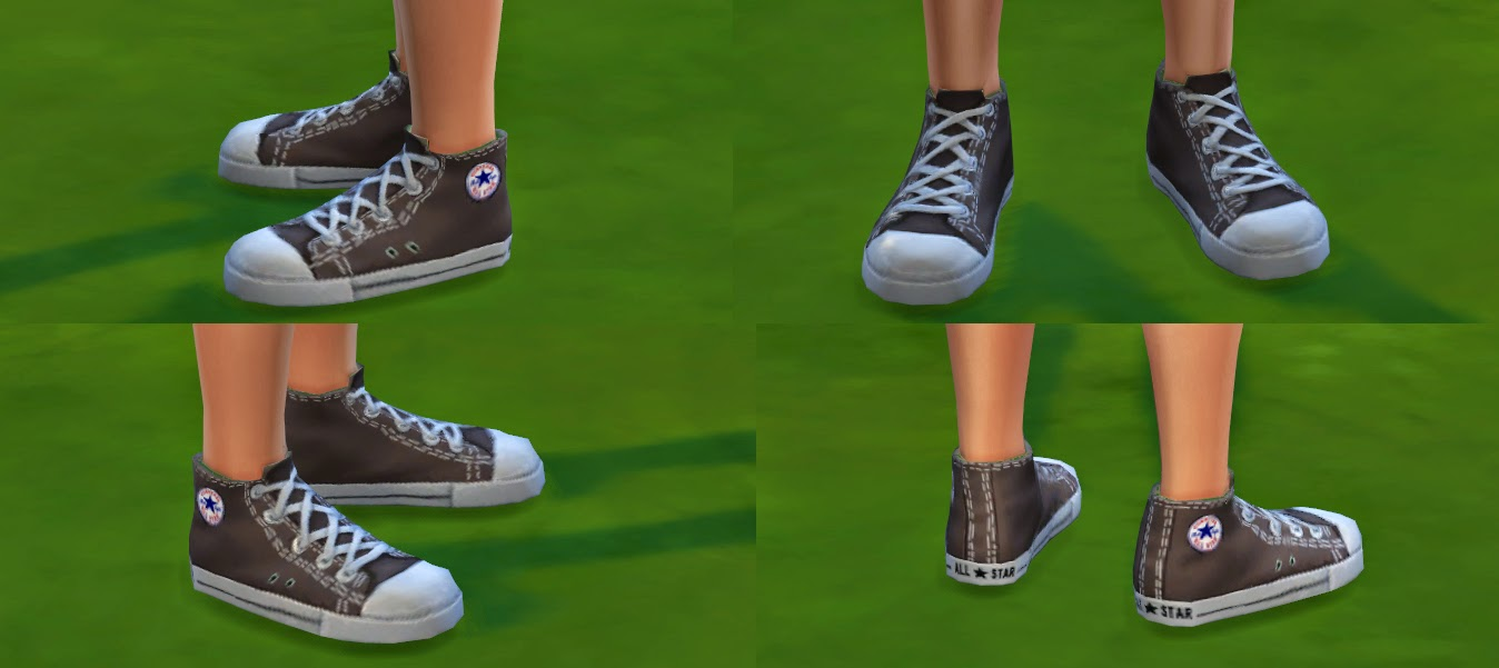 My Sims 4 Blog Converse All Star For Men By Ironleo78
