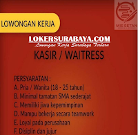 Karir Surabaya Terbaru di Mie Setan Desember 2019