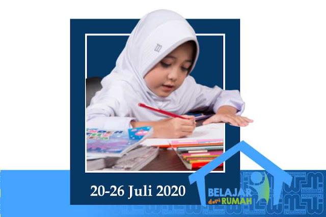 Jadwal BDR TVRI 20-28 Juli 2020