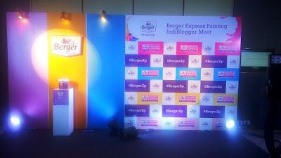 Indiblogger BergerXP meet Taj Vivanta