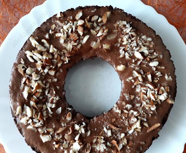 torta caprese vegan - a Bella e o Mundo blog
