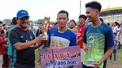 Indonesia muda (IM.FC)berhasil meraih juara 1 di final Asosiasi Liga PSSI 2018
