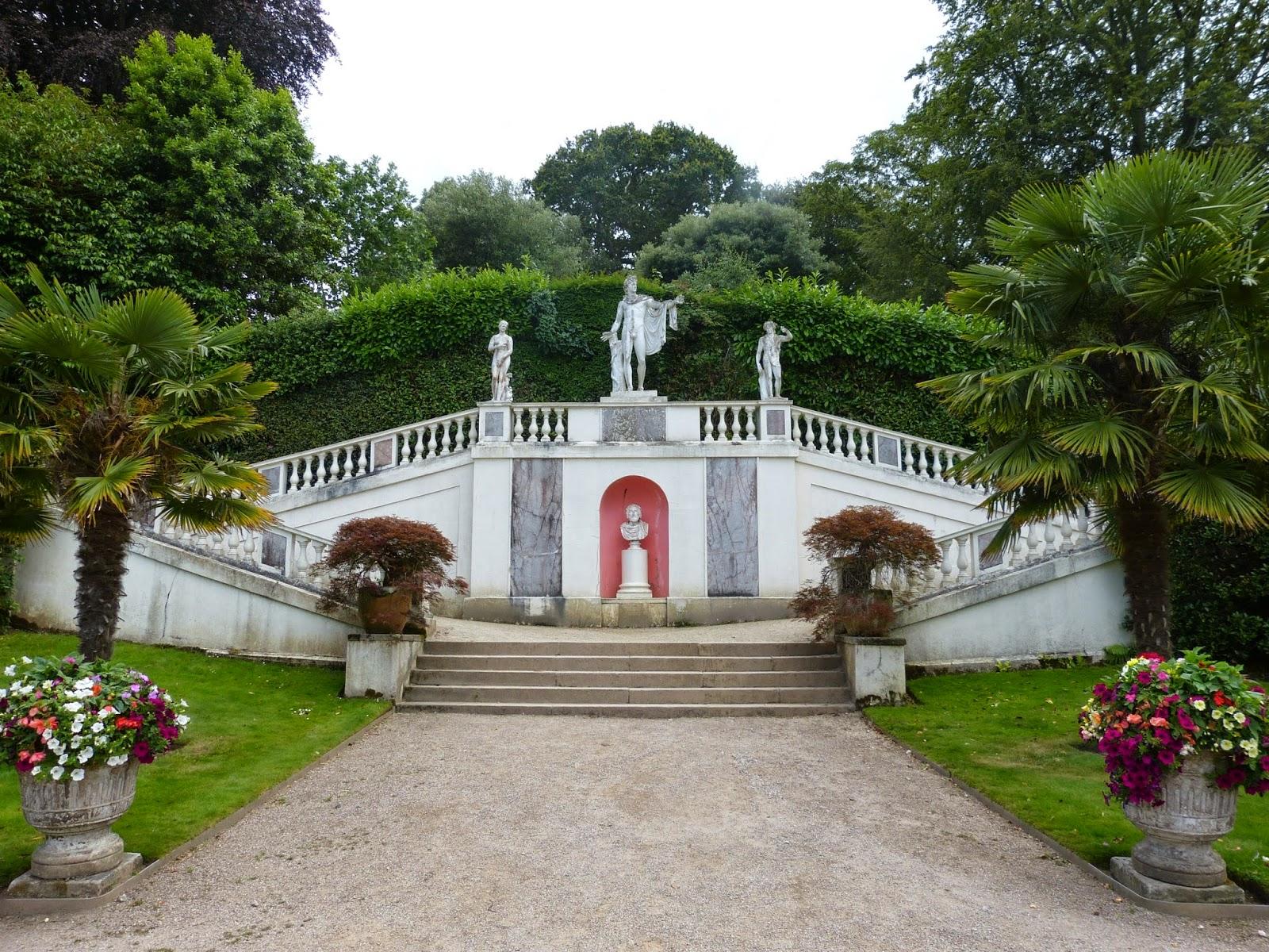 Italian garden, Mount Edgcumbe