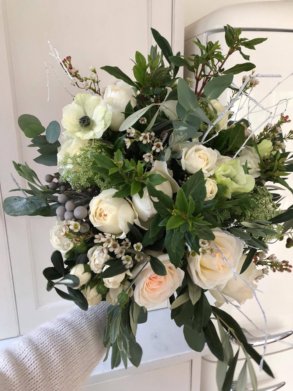 Christmas Winter Blooms And Wreaths For Non Diyers With The