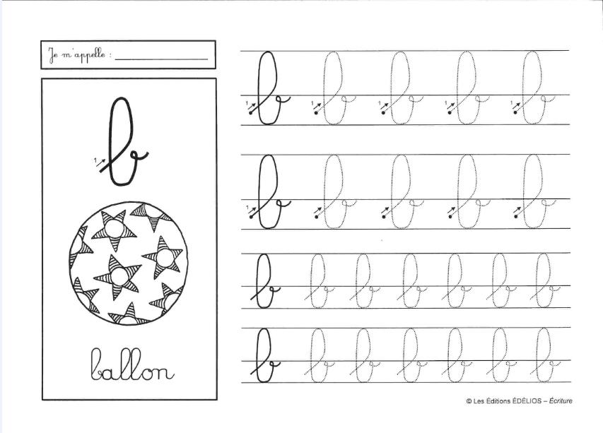 مجموعة من أوراق لتعلم كتابة الحروف الفرنسية الموقع التعليمي Ademweb Com