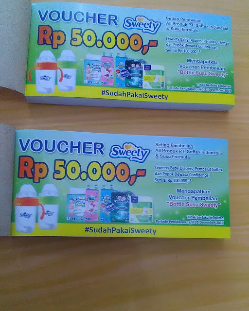 Voucher Popok Sweety
