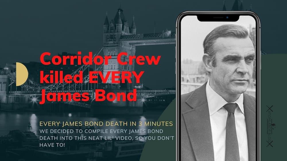 James Bond kann doch sterben | Every James Bond DEATH in 3 Minutes - Webtrash