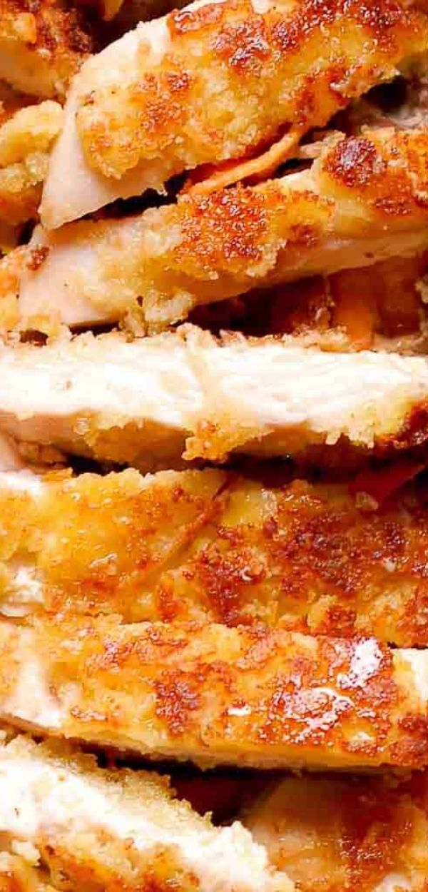 Pan Seared Parmesan Crusted Chicken