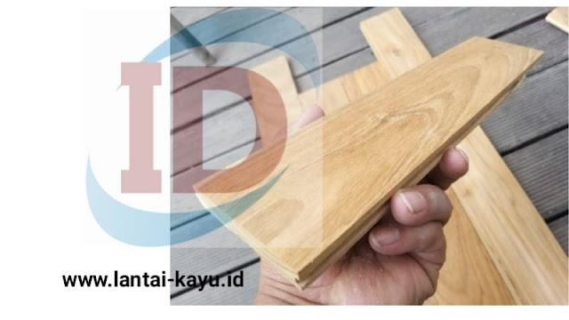 mengenal lantai kayu jati