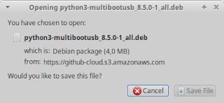 Cara Membuat Banyak Installer GNU/Linux Kedalam USB Menggunakan MultiBootUSB