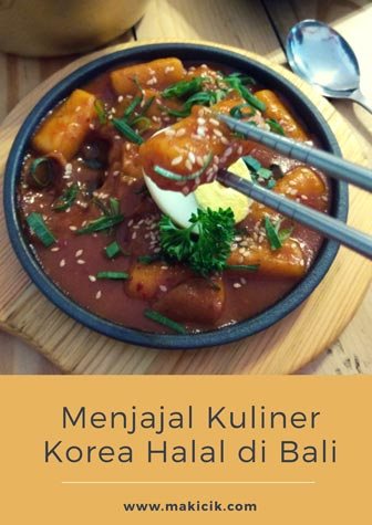 Menjajal kuliner Korea halal di Daebak Bali