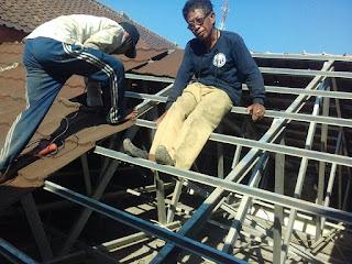 Renovasi Gedung BPD di Bekasi