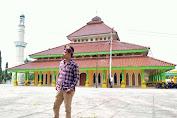 Keindahan Masjid Raya Rengat , Wisata Inhu Bermakna Sejarah Yang Wajib Kamu Kunjungi