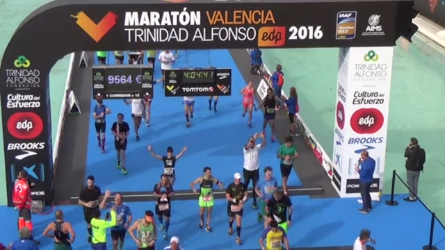 Maratón de Valencia, finisher, Meta, Bikila, Mi Diario Runner, valencia es oro