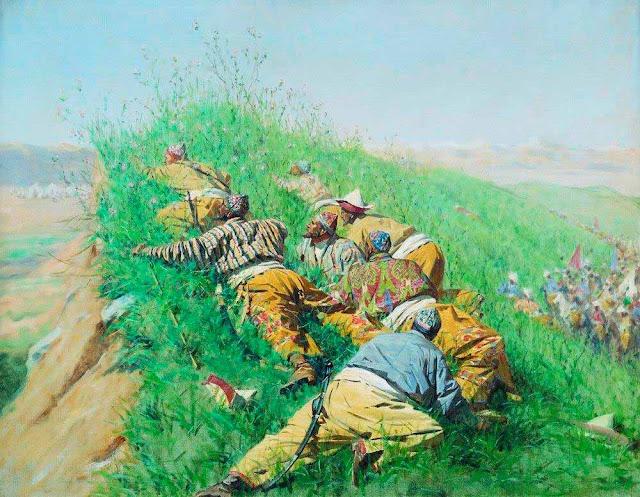 Василий Васильевич Верещагин - Высматривают. 1873