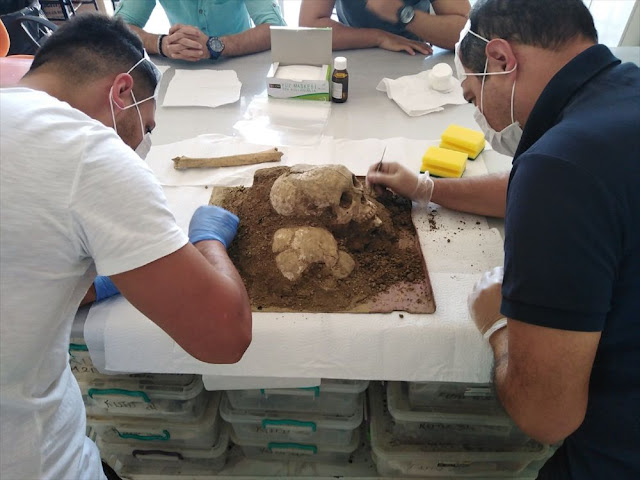 3,500-year-old skull found in Hittite city of Sapinuwa