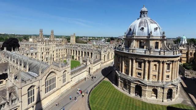 University Church -St Mary's Oxfordshire