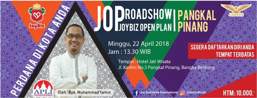 Presentasi JOP Perdana Joybiz di Pangkal Pinang