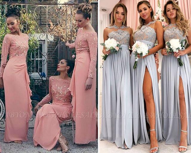 O colorido e a alegria de um casamento - As damas de honra