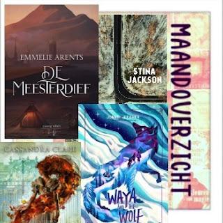 Maandoverzicht van gelezen boeken en verwachte titels door De boekenfabriek