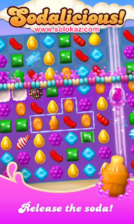 Candy Crush Soda Saga MOD APK v1.75.5 Unlimited Lives + Unlimited Boosters Terbaru
