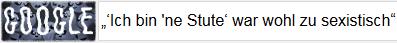 'Ich bin ne Stute' war wohl zu sexistisch