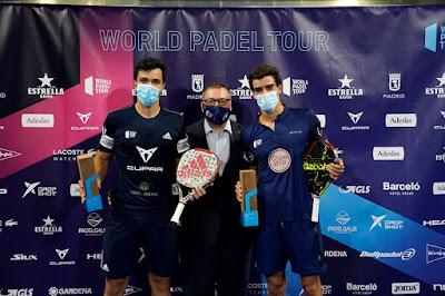 Ale Galán y Juan Lebrón se proclaman campeones del Estrella Damm Open 2020.