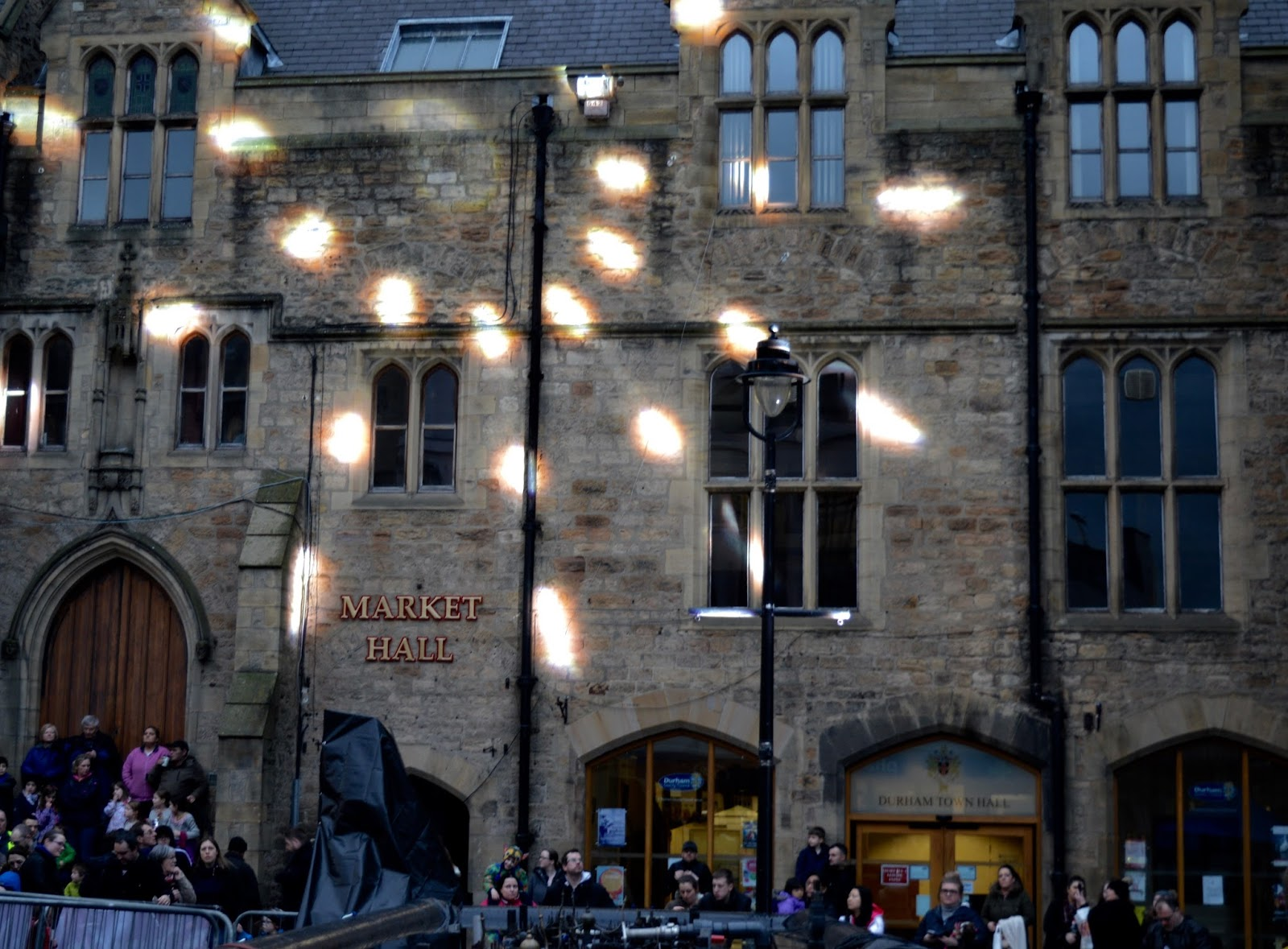 Fire and Ice Durham 2017 | Photographs & Top Tips for 2018 - market hall light hall