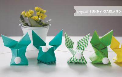 coniglietti origami come realizzarli
