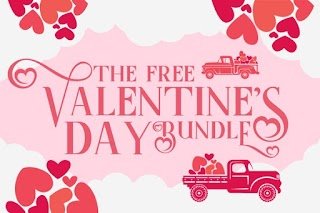 The Valentine's Day Font And Graphics Bundle