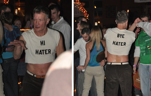 HI HATER BYE HATER shirt. PYGear.com